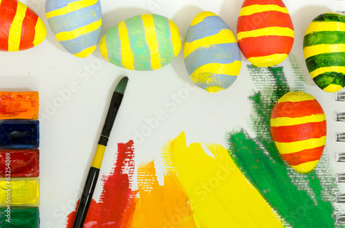 handmaded easter eggs