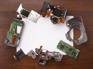 Ремонт зеркального фотоаппарата