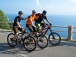 Gruppe Mountainbiker