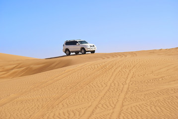 4WD Driving in the Desert