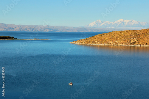 Titicaca lake