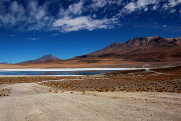 Laguna Colorada - Red Lagoon