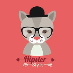 Animal hipster design
