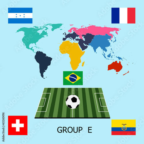 Group E - Switzerland, Ecuador, France, Honduras