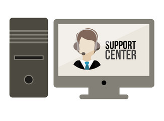 Support center design