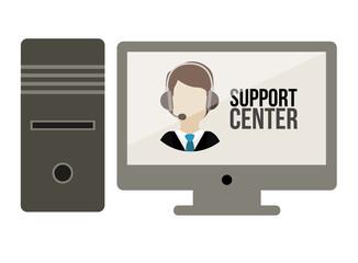 Support center design
