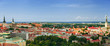 Panorama of the Tallinn Old Town, Estonia.