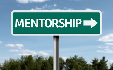 Mentorship road sign
