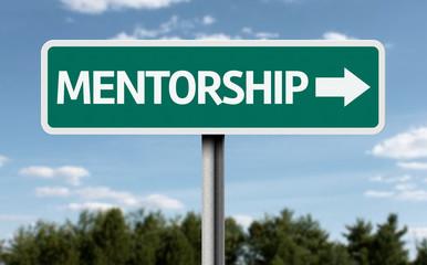 Mentorship road sign