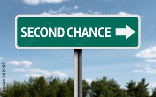 Second Chance road sign