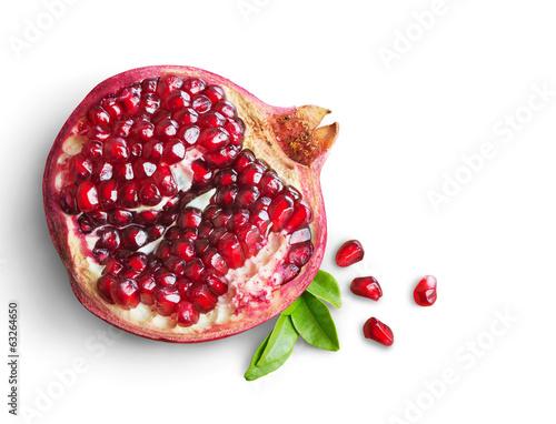 pomegranate fruit - 63264650