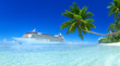canvas print picture - Cruise Ship