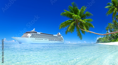 canvas print picture Cruise Ship