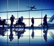 Leinwandbild Motiv Airport Lounge