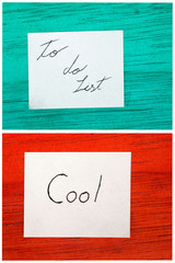 post it notes, todo list, cool
