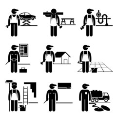 Handyman Labor Labor Skilled Jobs Occupations Careers