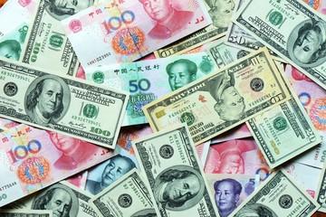 USD and RMB bank notes