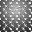 бумажные звезды на сером фоне