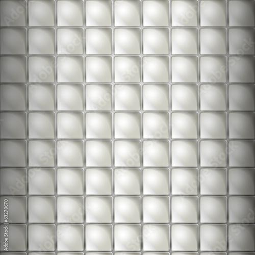 бумажные выпуклые квадраты на сером фоне