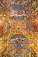 Venise - peinture de l'église Chiesa di Sant Alvise