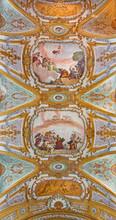 Venise - peinture de l'église Chiesa dei Gesuiti