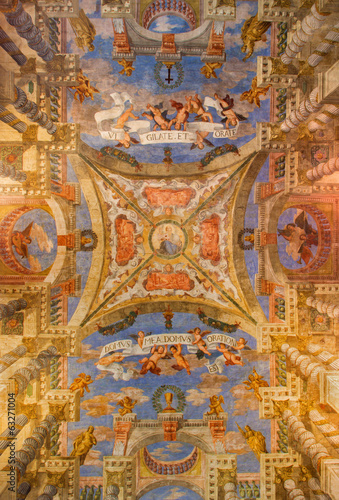 Venice - Ceiling fresco from church Chiesa di Sant Alvise