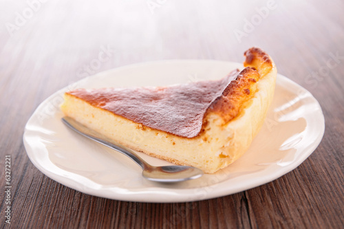 pastry slice, cheesecake