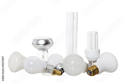 Group of Lights Bulbs