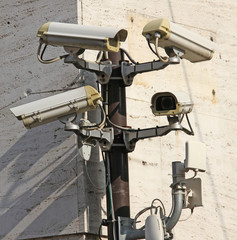 Camera for video surveillance and control with wireless connecti