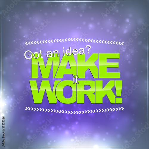 Make it Work - 63274266