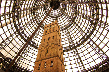 Shot tower at Melbourne
