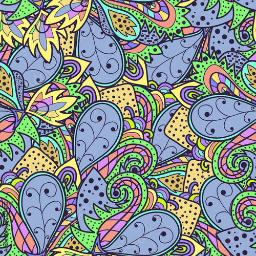 Decorative original seamless pattern