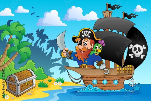 Pirate ship theme image 1
