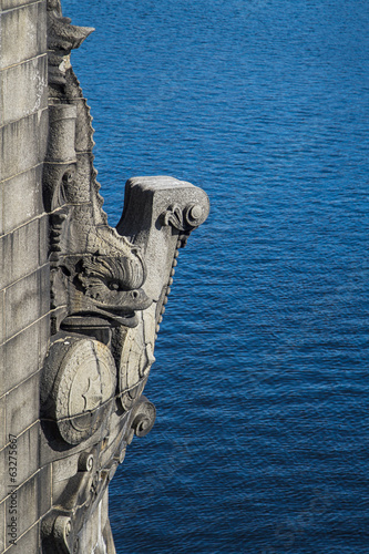 Bridge gargoyle