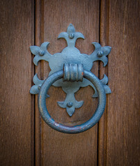 Ornate Church Door Knocker