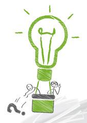 Ballast abwerfen, Ideen finden