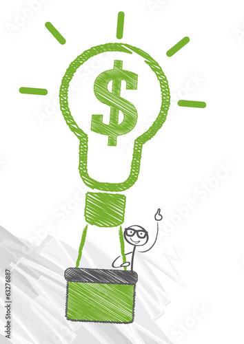 Geschäftsidee, Erfolg, Dollarkurs