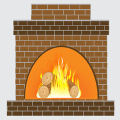 Heater from brick