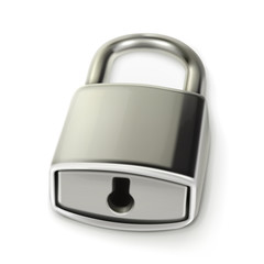 Metal lock, vector illustration
