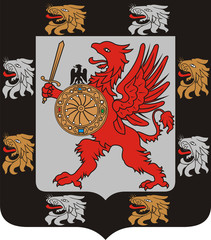 Coat of arms of the Romanov dinasty