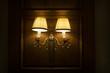 vintage elegant wall lamp