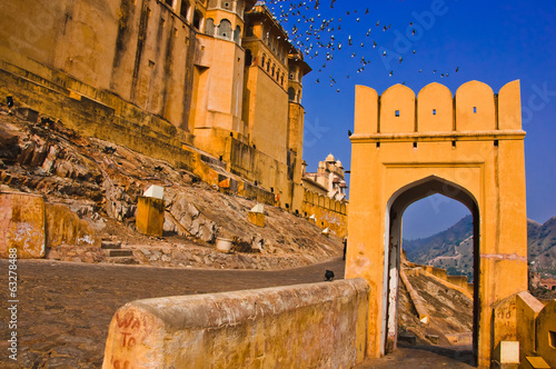 The Amber Fort, Rajasthan, Jaipur, India