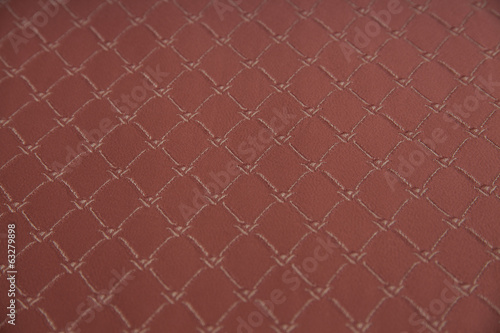 Closeup fabric with geometric detail