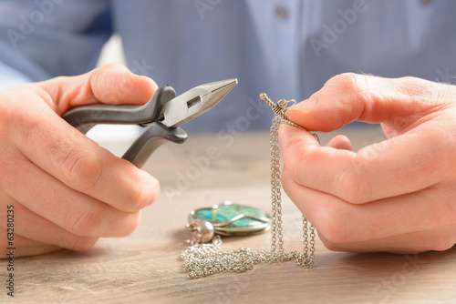 Creating or fixing jewelry - 63280235