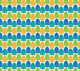 easter egg theme pattern