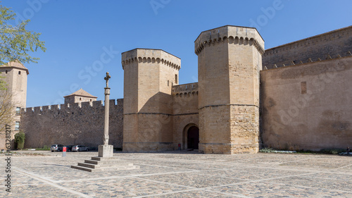 Monastery and Castle of Poblet in Spain