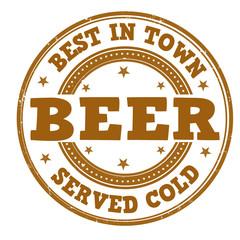 Beer stamp