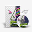 Dance Academy Training DVD Case and Disc Vector Design