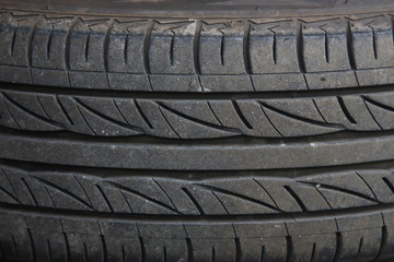 used car tire texture