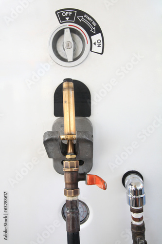 LPG gas pump nozzle